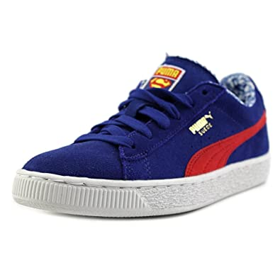 reputable site a5cc5 0ead0 Amazon.com | PUMA Suede Superman Little Kids | Sneakers