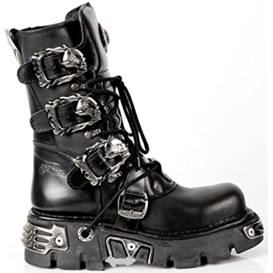 design di qualità 30678 2f67d NEWROCK New Rock Stivali Stile 391 S1 Nero Reactor Unisex