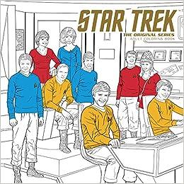 Amazon.com: Star Trek: The Original Series Adult Coloring Book ...