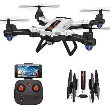 HAOXIN F22G FPV RC Drone Quadcopter Plegable con Cámara Gran ...