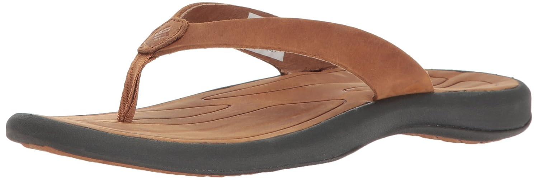 Columbia Women's Caprizee Flip Nubuck Sandal B01HEIQOYQ 8 B(M) US|Elk, Tundra