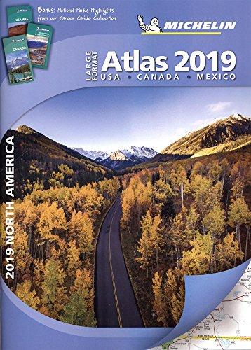 Michelin North America Large Format Atlas 2019 (Atlas (Michelin))