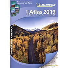 Michelin North America Large Format Atlas 2019