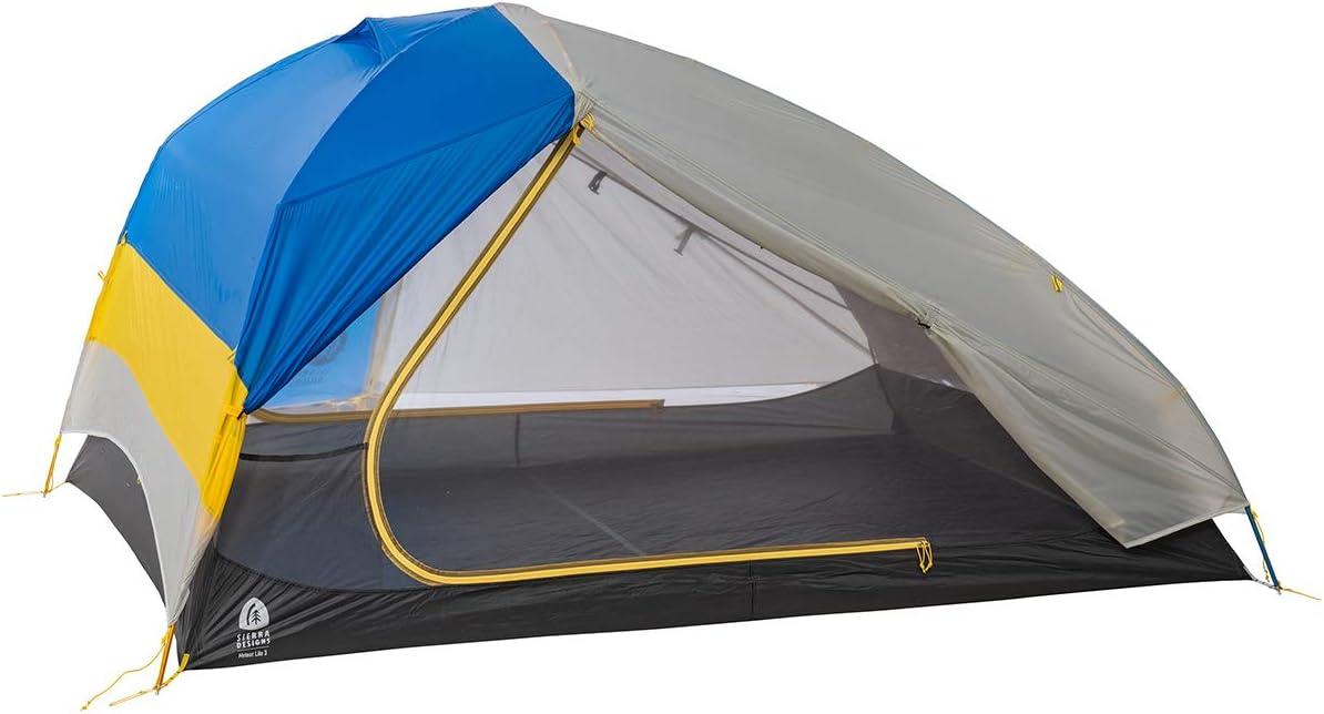 Sierra Designs Meteor Lite, Freestanding Lightweight Backpacking Camping Tent with 2 Doors Vestibules, Stargazer Rain Fly More