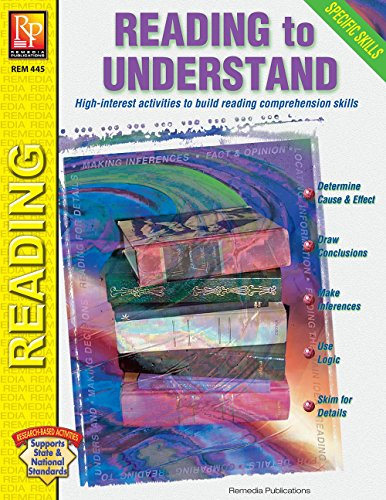 Specific Skills Series: Reading to Understand | Reproducible Activity Book