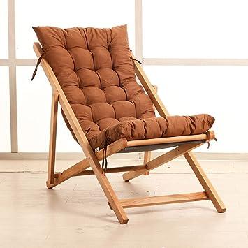 Yixiny Deckchair Sty 001 Klappstuhl Massivholzbaumwollmatte Outdoor