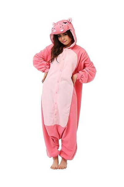 Fleece Pijama Kigurumi – Hipopótamo