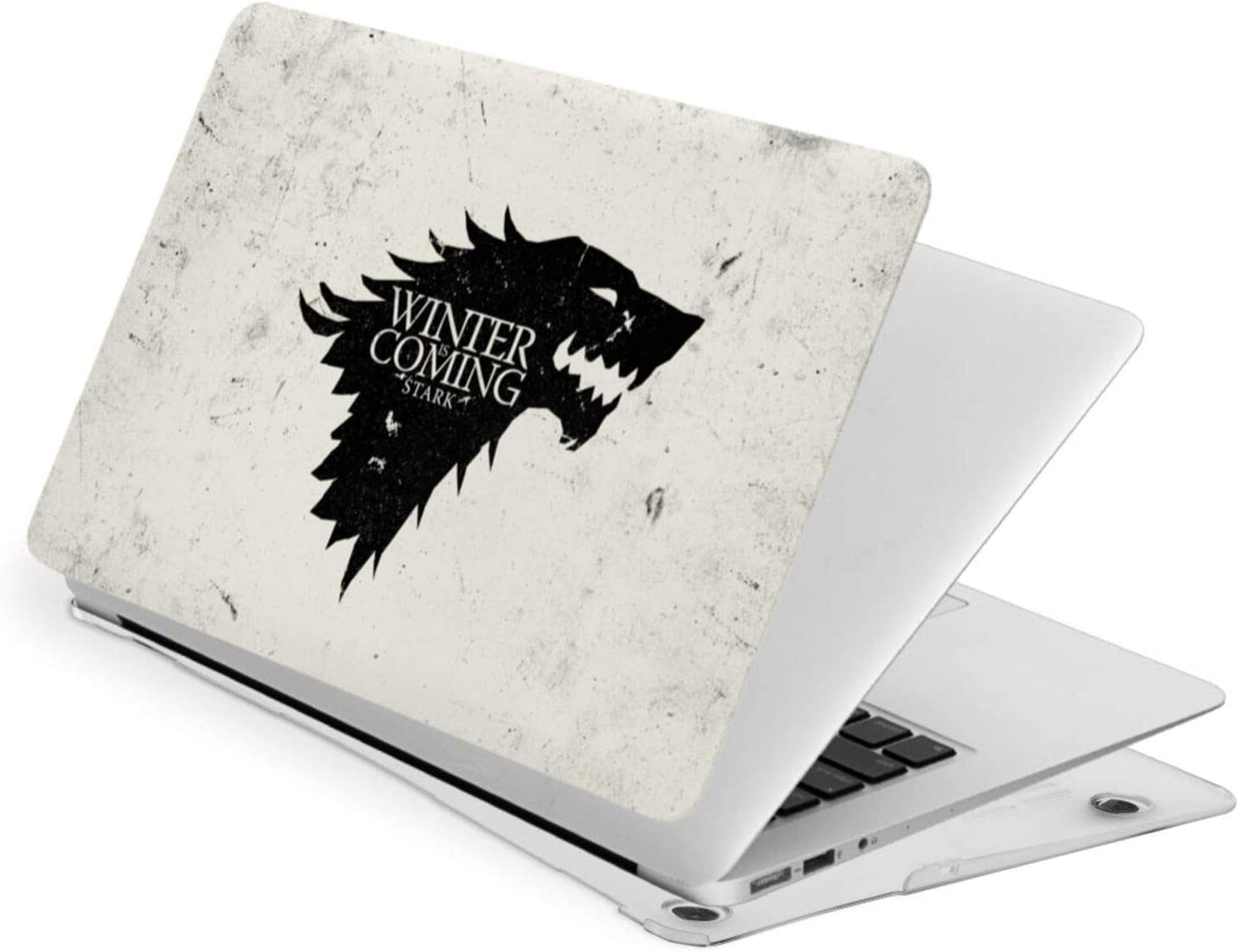 JHJHJ Game of Thrones-Winter is Coming Stark Laptop Case Fortouch13 Hard Case Shell Cover + A Keyboard Swipe The Quality of A Material is Frivolous,Good Heat Dissipation Performance