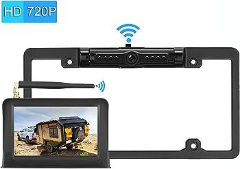 LeeKooLuu 720P Digital Wireless Backup Camera System