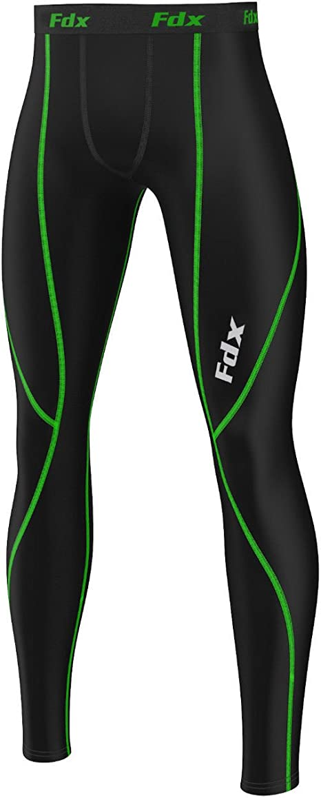 UK Mens Compression Leggings Pants Gym Wear Base Layer Running Sports Clothes