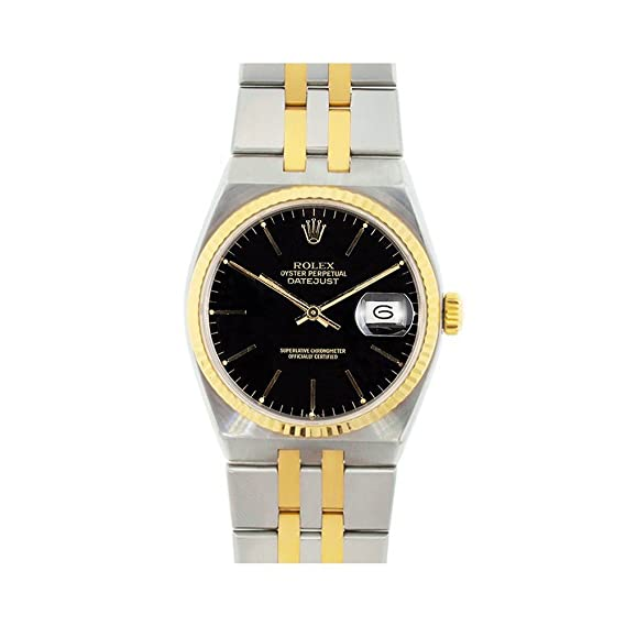 Rolex Datejust oysterquartz automatic-self-wind Mens Reloj 17013 (Certificado) de segunda mano: Rolex: Amazon.es: Relojes