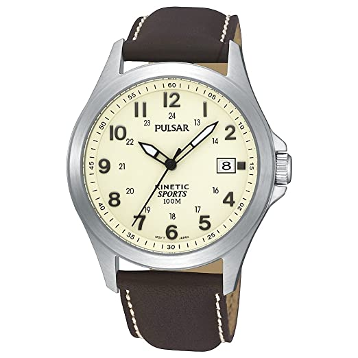 Pulsar PAR167X1 - Reloj para Hombres, Correa de Acero Inoxidable: Amazon.es: Relojes