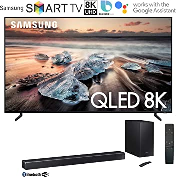 Samsung QN75Q900RB Q900 QLED Smart 8K UHD TV (2019 Modelo) Bundle ...