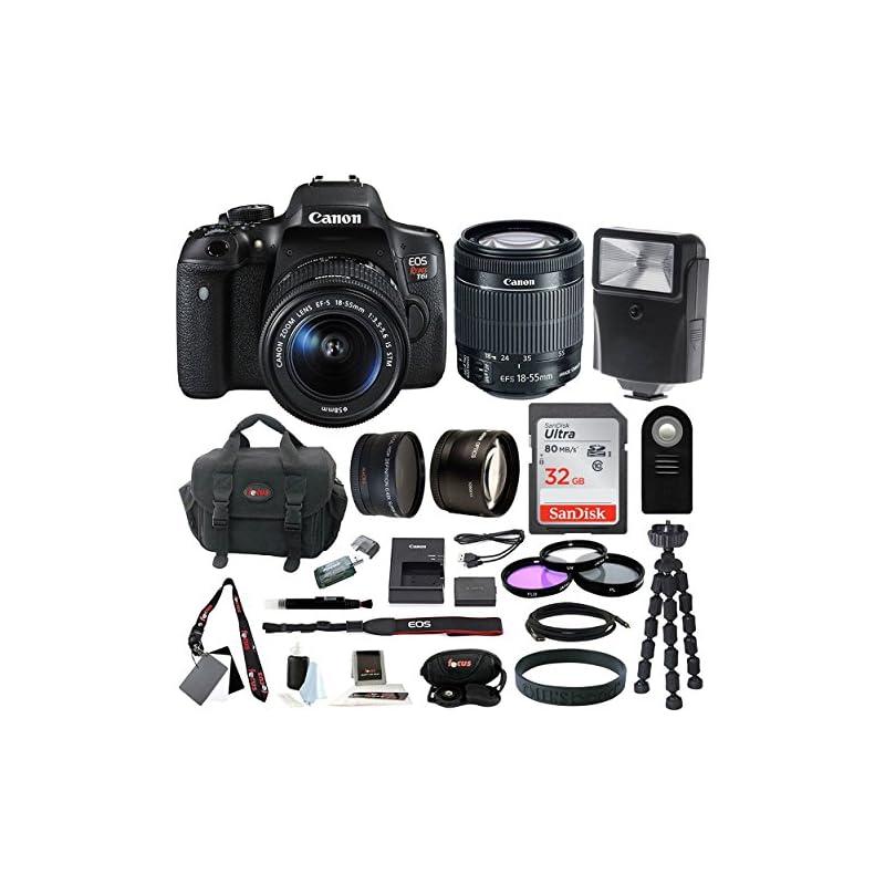 Canon EOS Rebel T6i Digital Camera: 24 M