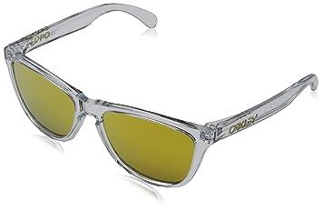 09e7a48e5d Oakley 9013A4, Gafas de sol, Hombre, Polished Clear, 55: Amazon.es: Deportes  y aire libre