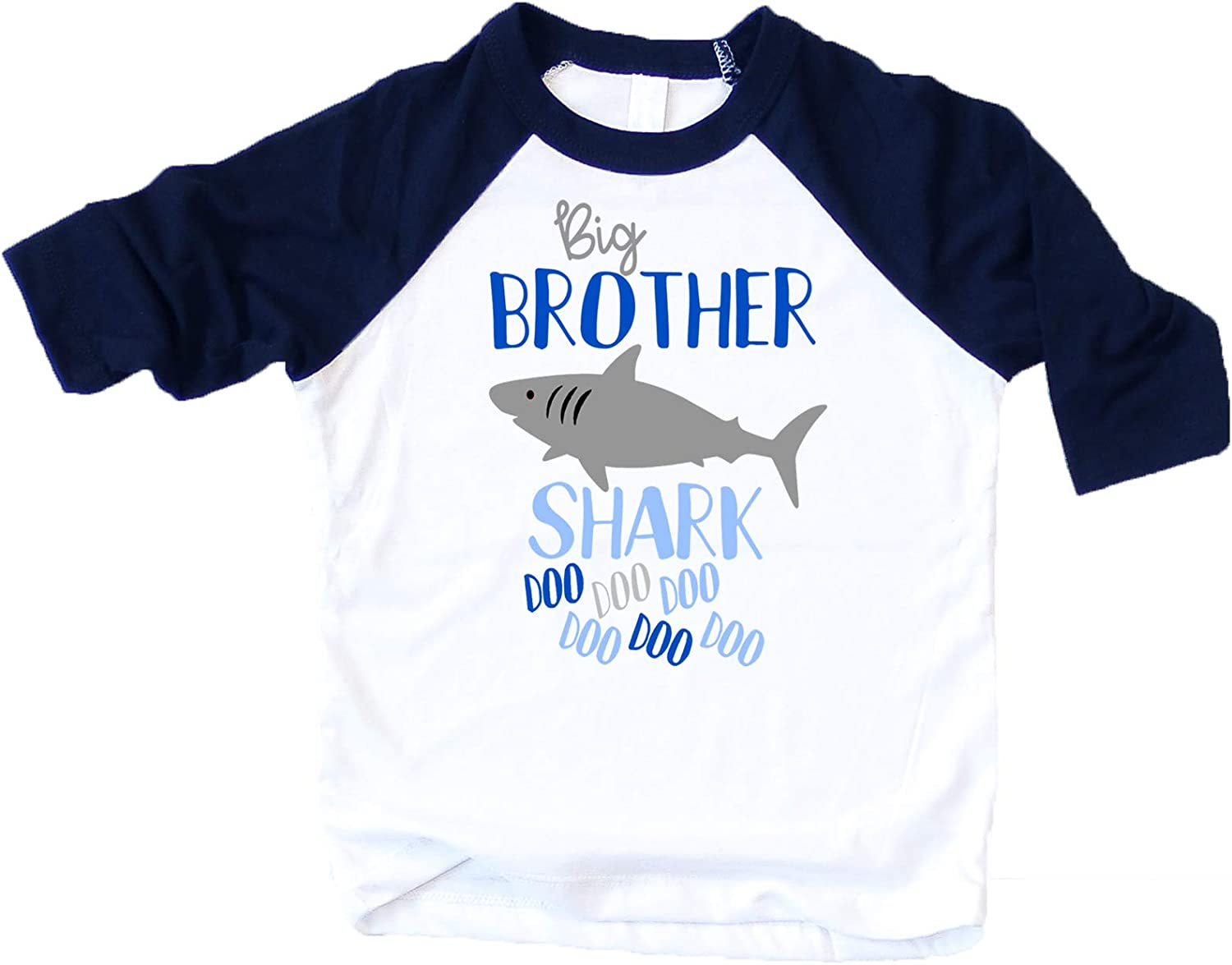 Sibling Matching Shark Shirts for Baby Toddler Boys and Girls Outfits