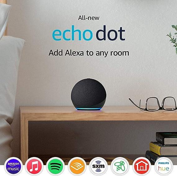 Allnew Echo Dot 4th Gen 2020 release  Smart speaker with Alexa  Charcoal at Kapruka Online for specialGifts