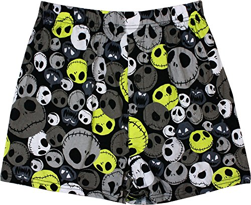 The Nightmare Before Christmas Mens' Jack Faces Boxer Shorts (Face Boxer Shorts)