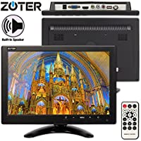 CCTV Monitor, BNC, ZOTER 10 inch HDMI Audio Speaker Portable LCD Mini Screen