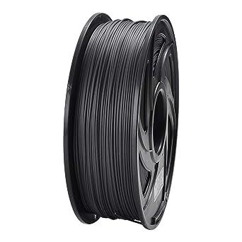 ET Filamento para impresora 3D PLA de fibra de carbono de 1,75 mm ...