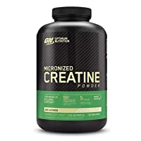 Optimum Nutrition Micronized Creatine Monohydrate Powder, Unflavored, Keto Friendly...