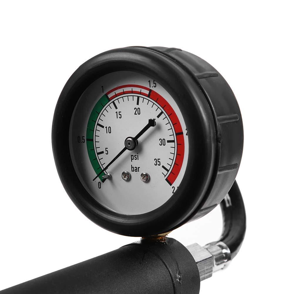 Water Tank Tester, Universal 18pcs Water Tank Leak Detector Car Cooling System Tester Kit by Aramox (Image #2)