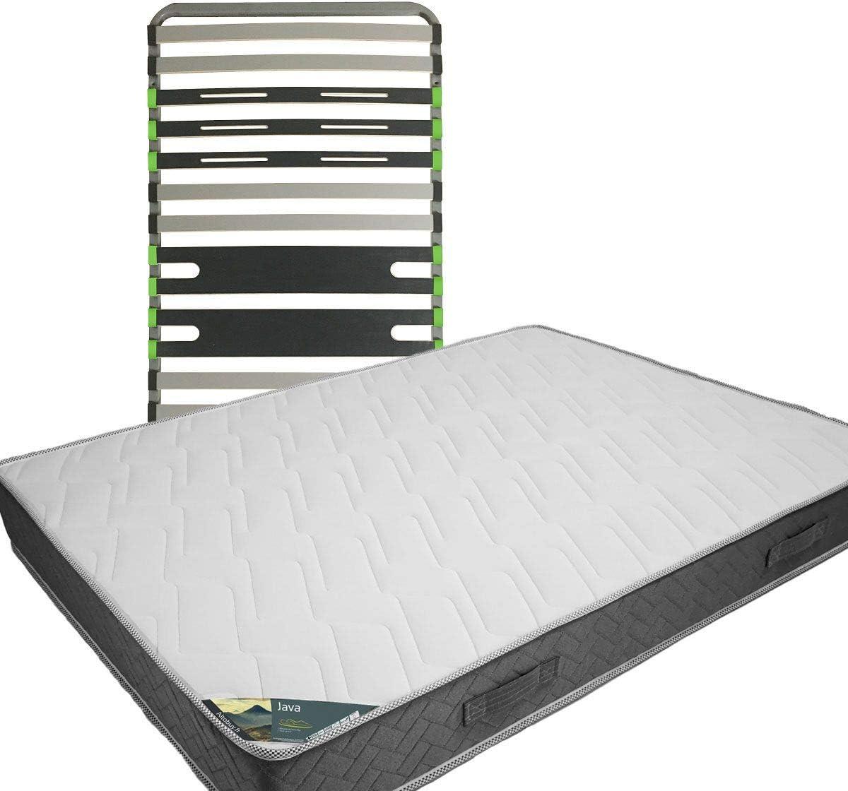 Java – Pack colchón + AltoZone 90 x 190: Amazon.es: Hogar