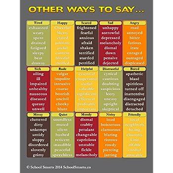 Amazon Other Ways To Saynonym Chart2 By School Smarts