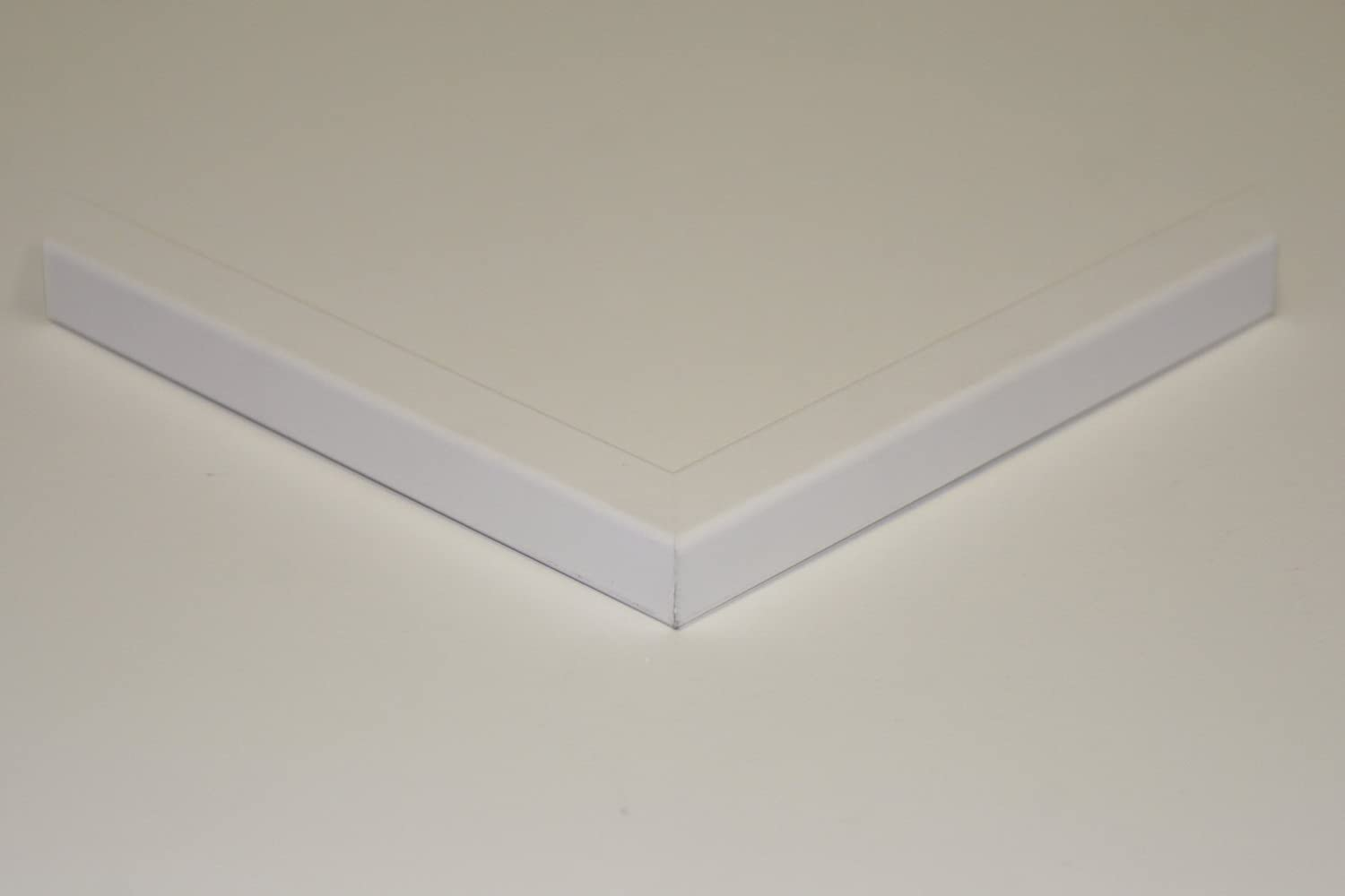 3  x  5 Picture Frame White . ArtToFrames 3x5 1.25 wide 2WOMFRBW72074