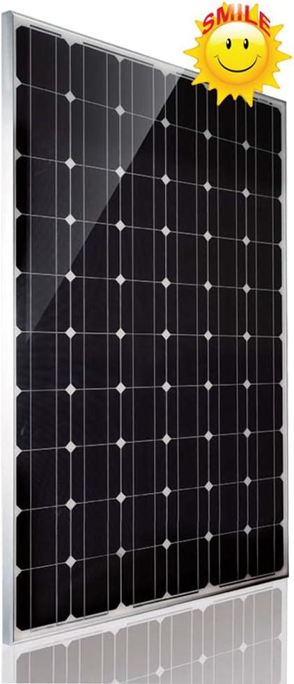 Amazon.com : Sainty Solar 255 Watt 24 Volt Monocrystalline Photovoltaic  Solar Panel (1 Pc) : Garden & Outdoor
