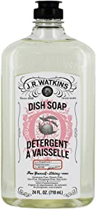 J.R. Watkins 24 oz Dish Soap Grapefruit, 24 Ounce, White
