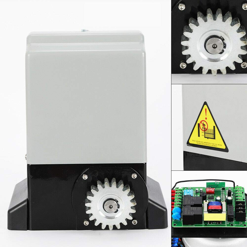 750W Sliding Door Drive Set Including 2X Remote Controls 2000 kg