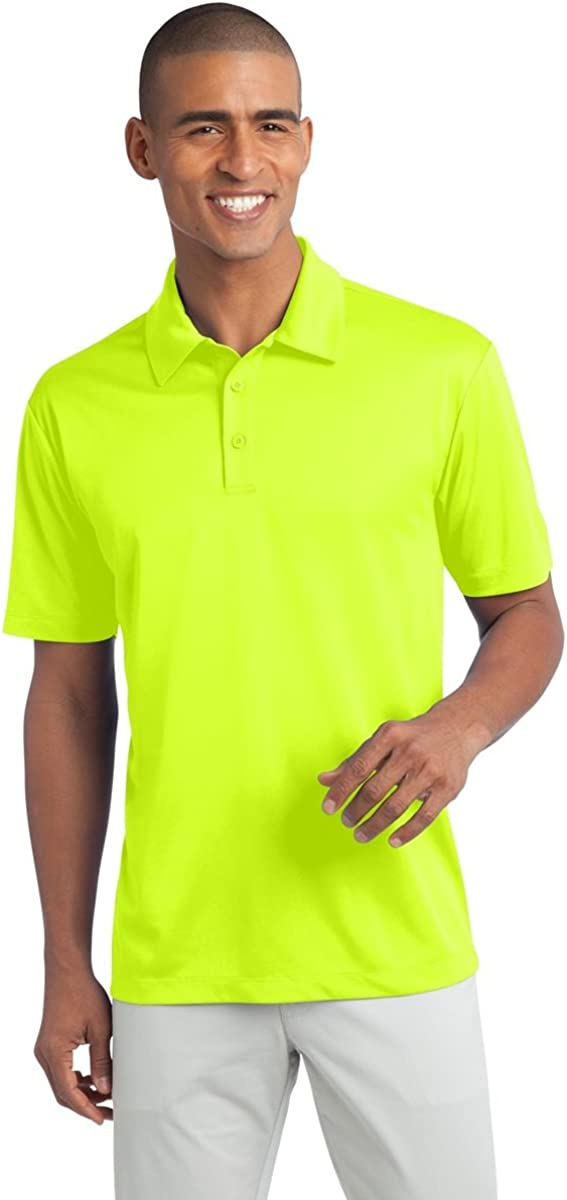 Mens Big /& Tall Short Sleeve Moisture Wicking Silk Touch Polo Shirt Clothe Co