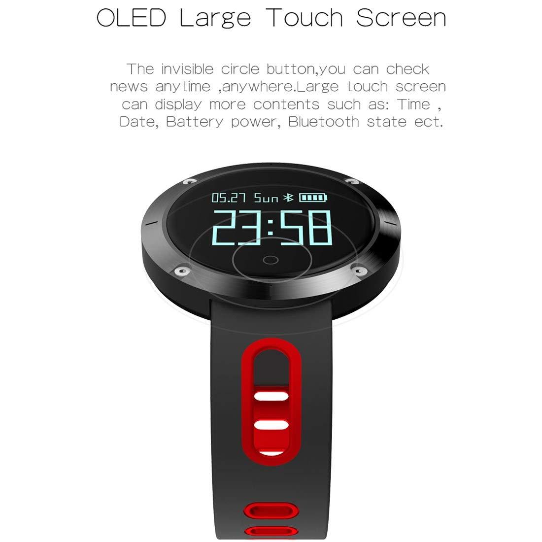 Smartwatch Inteligente Artificial Domino DM58 Pantalla táctil ...