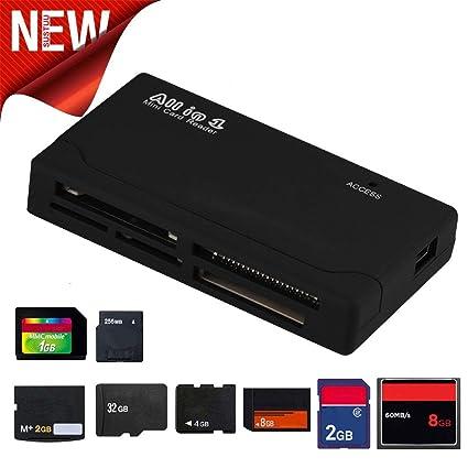 samLIKE - Lector de Tarjetas Micro SD Todo en 1 TF/SD Card Reader ...