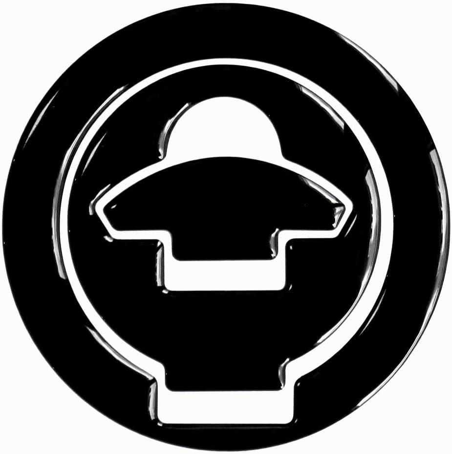 Tappo Serbatoio di Pad 3d 610020/Black Nero/ /Protezione serbatoio universale adatto per Ducati Tanks