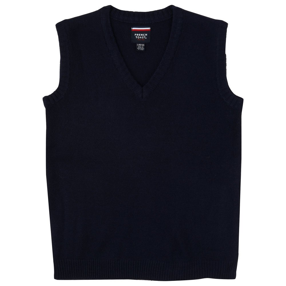 French Toast Boys' V-Neck Vest SC9016