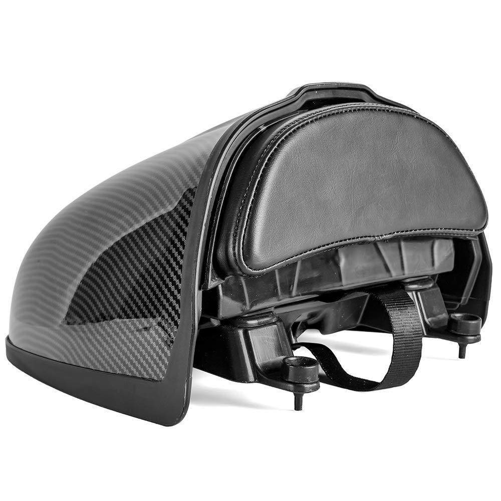 Nero LoraBaber Moto coda ordinata sedile posteriore gobba vano portaoggetti passeggero sedile copertura carenatura per R NINE T RNINET R 9 T R9T 2014-2020