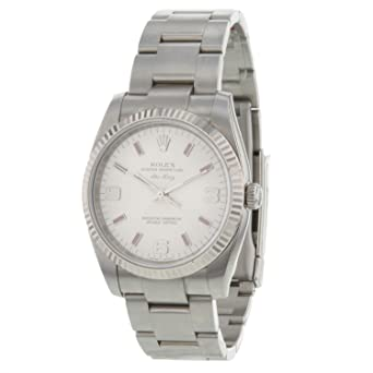 Amazon Com Rolex Oyster Perpetual Air King 114234 18k White Gold