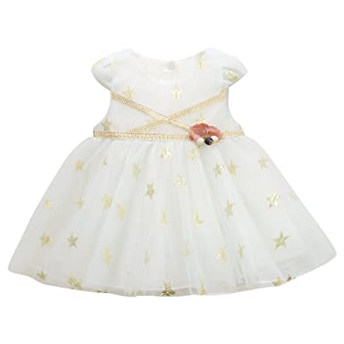 26f9f10c50e Girl Baby Girl Beaded Backless Lace Back A-Line Tutu Tulle Party Flower Girl  Dress