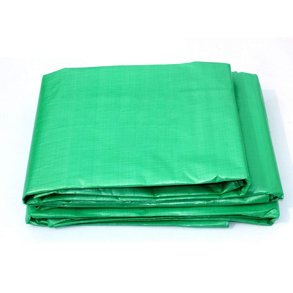 YNN - ターポリン ポリエチレンPE防水タフリン厚め防水布日陰布カーターポリン、グリーン - 180g /m² (サイズ さいず : 4*5m) 4*5m  B07K6M8LB9