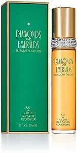 Elizabeth Taylor Diamonds and Emeralds Eau de Toilette Spray for Women, 50ml (118461)