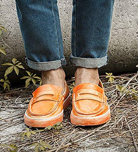 Scarpe Stringate Icegrey Mens Brogue Orange