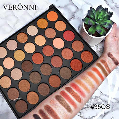 Little Story 35 Colors Matte Shimmer Earth Warm Color Eyeshadow Palette Makeup Eye Shadow]()