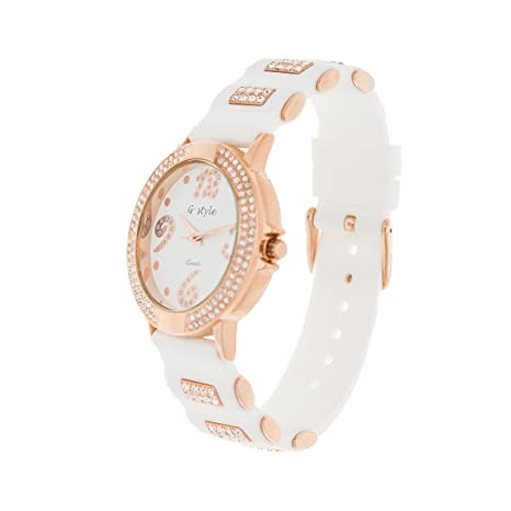 Amazon.com: Women Watch on Sale: Elegant and Fashion Rubber Strap (GSB03): Health & Personal Care