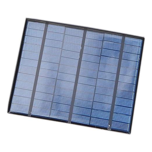 HYLMM Cargador de teléfono Power Bank 3.5w18v Panel Solar ...