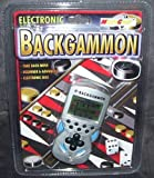 Electronic e-Backgammon Handheld Game by MicroGear