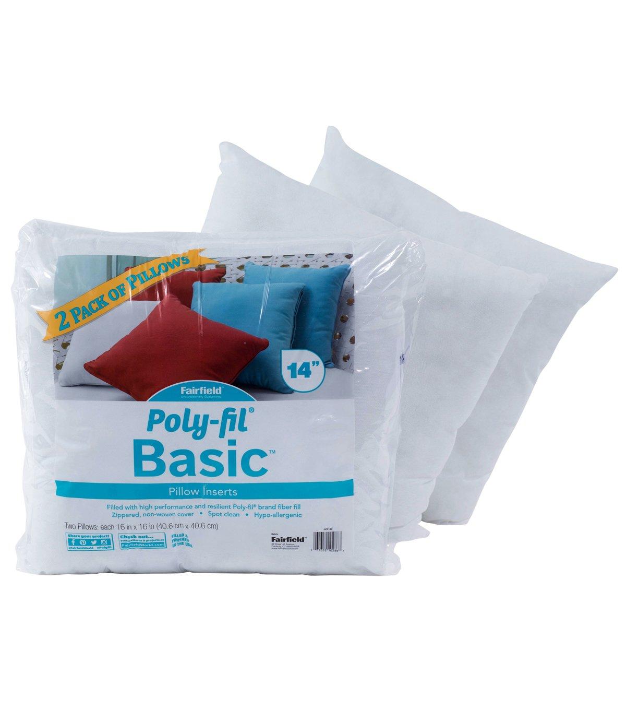 Amazon.com: Fairfield poly-fil Basic inserciones de manta ...