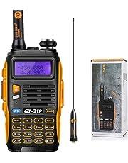 Baofeng GT di 3TP Mark III 8W 2m/70cm UHF/VHF Dual Band mano dispositivo Radio PMR Walkie Talkie