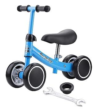 lahomie Scooter Bicicleta de Equilibrio Sin Pedal, Balance ...